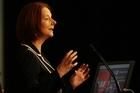 Australian Prime Minister Julia Gillard. Photo / Greg Bowker