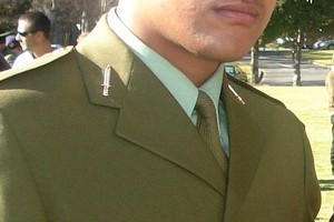 New Zealand soldier Private Kirifi Mila. Photo / Supplied