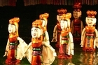 The Vietnamese Water Puppets will be on show on a specially created lake in Aotea Square. Photo / Sally Dillon