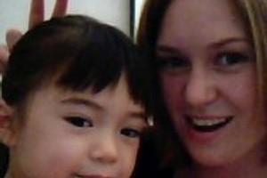 Kara Hurring and her daughter Leena. Photo / Supplied