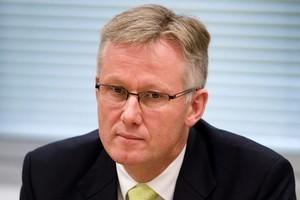 Former Kiwibank chief executive Sam Knowles. Photo / Mark Mitchell
