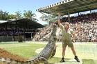 Steve Irwin's daring tactics were a huge drawcard for Australia Zoo. Photo / Supplied