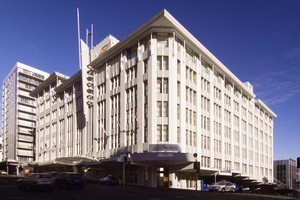 The Heritage Hotel in central Auckland  File photo