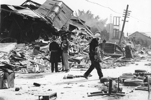 Very few people had earthquake insurance at the time of the 1931 Hawke's Bay earthquake - but Napier and Hastings were still rebuilt.
