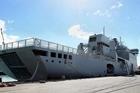 The HMNZS Canterbury. File photo Glenn Taylor