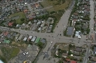 Watch an aerial video of the devastation in Christchurch's city and suburbs.