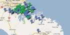 View: Christchurch earthquake: Aftershocks map