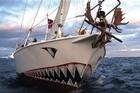 The Norwegian registered yacht Berserk has gone missing in the Ross Sea. Photo / Supplied