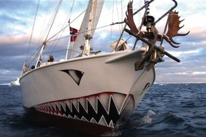 The Norwegian registered yacht Berserk has been missing in the Ross Sea since Tuesday. Photo / Supplied