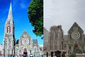Christchurch: Then and now