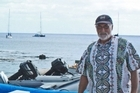 Commodore Keith Vial runs a sometimes yachtless yacht club. Photo / Jim Eagles