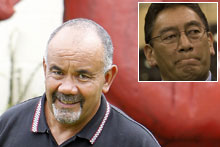Te Ururoa Flavell and Hone Harawira (inset). Photos / NZ Herald