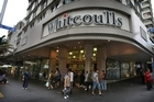 The flagship Whitcoulls store in Queen St, Auckland. Photo / Greg Bowker