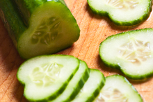 Cucumbers are refreshingly low-cal and have a great nutritional profile, containing vitamins C and A, as well as potassium, magnesium, folate, dietary fibre and the mineral silica. Photo / Thinkstock
