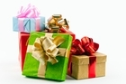 The two police officers arrived at the home of the burgled family with arms full of gifts. Photo / Thinkstock