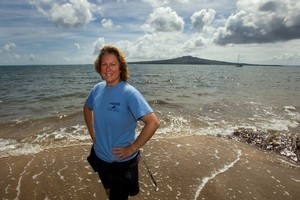 Leigh Burrell wants her Swim50 mission to inspire her pupils and many other people to try something new and push themselves. Photo / Brett Phibbs