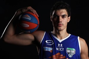 At 18, Steve Adams was named 2011 NBL Rookie of the Year. Photo / Getty