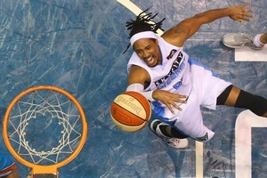 CJ Bruton of the Breakers in action. Photo / Getty Images
