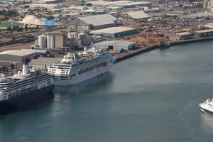 Ports of Tauranga. Photo / APN