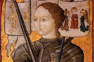 Tomorrow is the the 600th anniversary of Joan of Arc's birth. Photo / Supplied