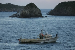 Foveaux Strait has been the site of another tragic boating accident this week. Photo / Simon Baker