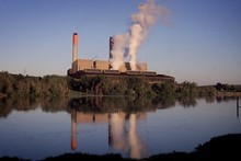 The Huntly Power Station operated by Genesis Energy.