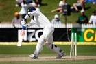 Indian batting legend Rahul Dravid was bowled three times in two tests. Photo / Sarah Ivey
