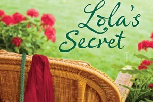Book cover of Lola's Secret, one of Margaret Thompson's summer reads. Photo / Supplied