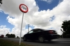 The speed limit sign - to some it's the maximum, to many others, it's the bare minimum. Photo / Dean Purcell.