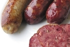 If you're making your own sausages try using natural animal casings. Photo / Supplied