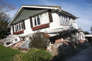 Experts think a lot of the stress in faults beneath  Christchurch has already been released. Photo / Geoff Sloan