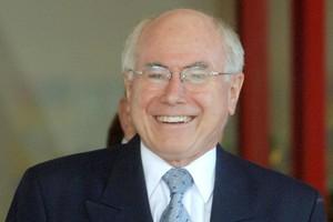 John Howard. Photo / NZPA