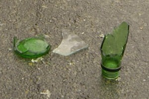 Police are following lines of enquiry after the girl was stabbed with a broken bottle. Photo / File