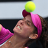 Julia Goerges of Germany plays a shot in her match against Greta Arn of Hungary during day two of the 2012 ASB Classic. Photo / Getty Images