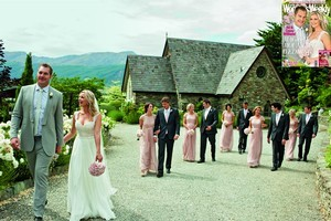Ali and Casey Williams 'partied up a storm' after their wedding. Photo / New Zealand Women's Weekly