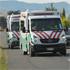 Ambulances leave the crash site. Photo / Chris Kilford