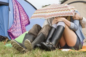 Enduring dismal camping conditions is not something writer Shelley Bridgeman willingly embraces in the spirit of holidaying. Photo / Thinkstock