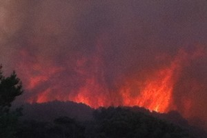 The heatwave has caused concern for the threat of fires. Photo / Supplied