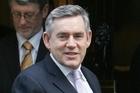 Gordon Brown. Photo / NZPA