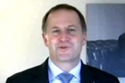 John Key appears in Kristian Anderson's YouTube video hit. Photo / YouTube