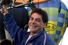 Lance Hopping was piloting another company's balloon. Photo / Wairarapa Times Age