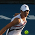 Marina Erakovic of New Zealand (L) and Rebecca Marino of Canada play their doubles match against Sania Mirza of India and Elena Vesnina of Russia during day one of the 2012 ASB Classic. Photo / Getty Images