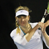 Mona Barthel of Germany plays a shot in her match against Jelena Dokic of Australia during day one of the 2012 ASB Classic. Photo / Getty Images