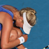 Sacha Jones of New Zealand is in pain with an injury during her match against Elena Baltacha of Great Britain during day one of the 2012 ASB Classic. Photo / Getty Images