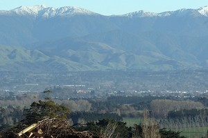 A body has been found in the Tararua Ranges. Photo / Wairarapa Times-Age