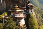 From ground level, access to the Tiger's Nest monastery - which dates back to the 15th century and is one of Bhutan's key tourist attractions - seems impossible. Photo / Thinkstock
