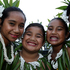 (L to R) 10-year-old Angel Togiamua, 14-year-old Andeelina Vaimaou, 8-year-old Gemma Miti, 8-year-old Zena Poimafiti and 21-year-old Hayley Patutaue all set to perform on Pasifika's opening night. Photo / Sarah Ivey