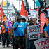  Port Protest, Downtown Auckland Saturday 10th March 2012. Photo / Jason Dorday