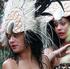 Cook Island performers at Pasifika Festival. Photo / Doug Sherring