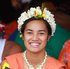 Performers at The Tuvalu stage at Pasifika Festival. Photo / Doug Sherring